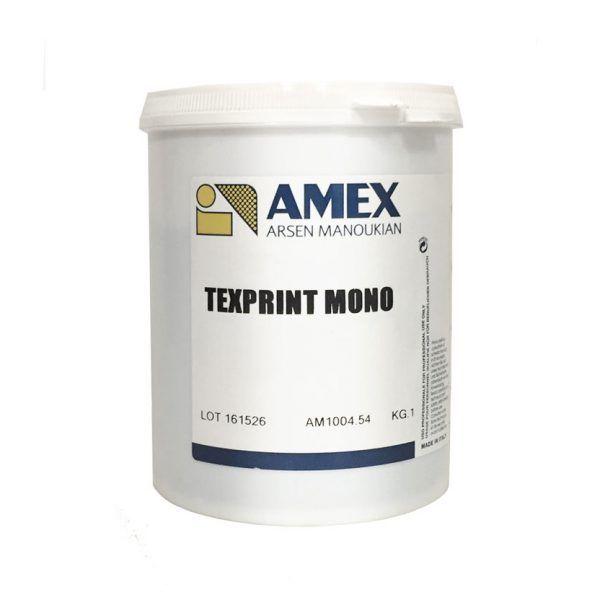 Texprint mono catalizzatore – inchiostri serigrafici a base acqua
